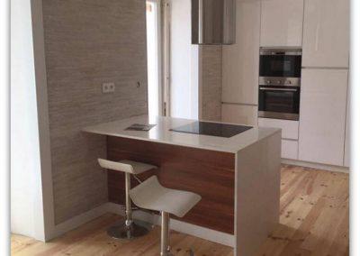 Reabilitação de dois apartamentos em Lisboa