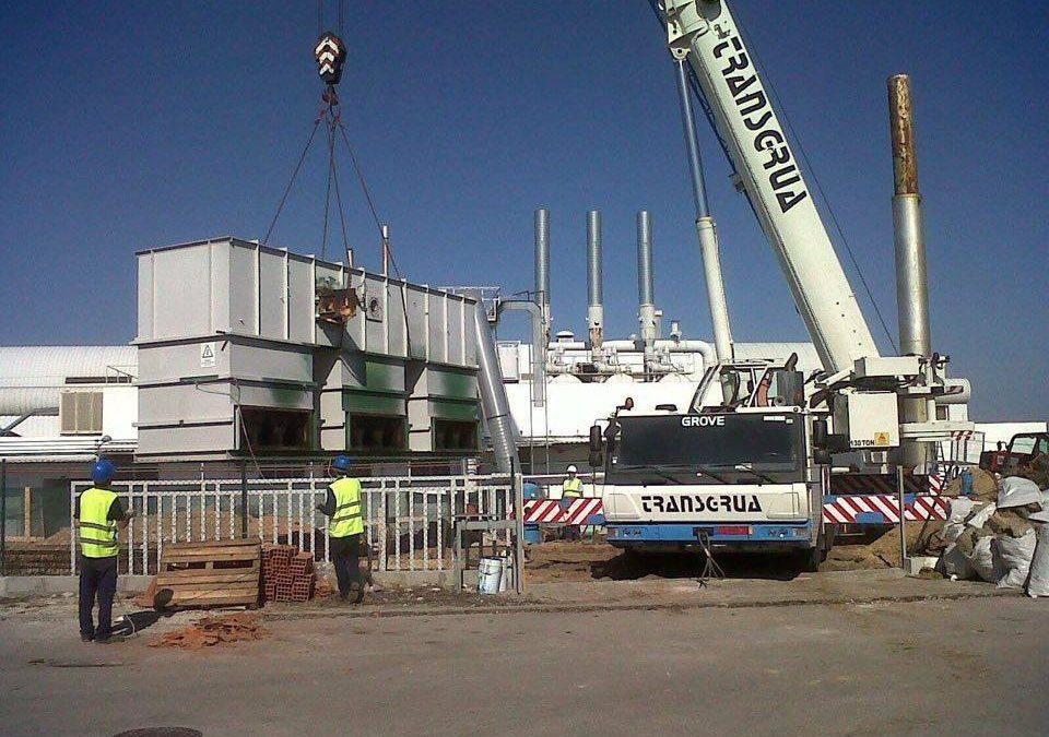 Construção Armazém Amcor em Alcácer do Sal