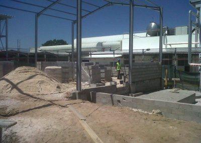Construção de um armazém para a Amcor em Alcácer do Sal